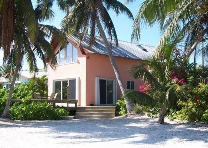 Palm Villa Key West's only real beach house, private and gated. #2