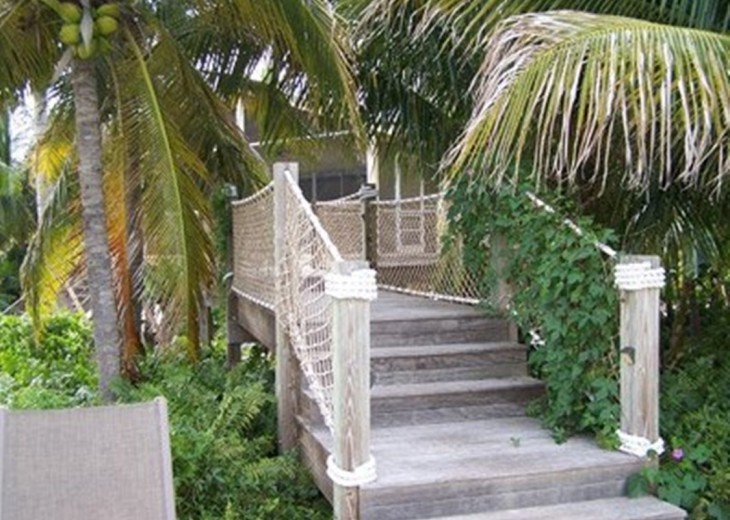 Private beach estate. Gated, tropical peace and quiet. Dock #9