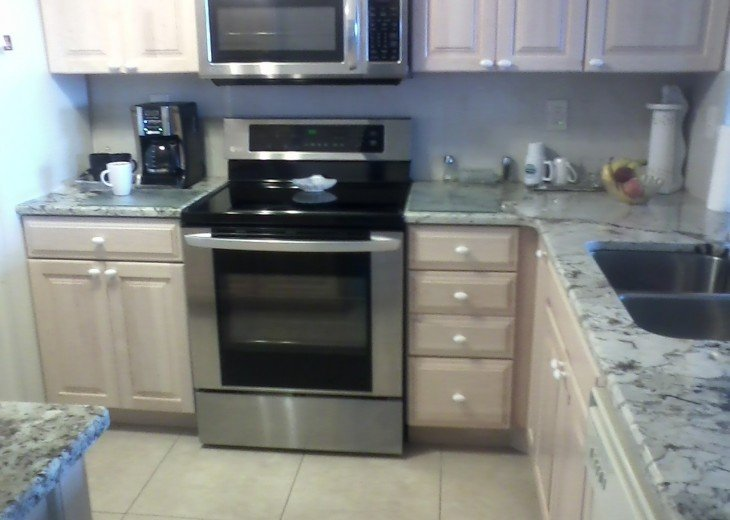 New updated Kitchen...Granite Counter tops and all the amenities
