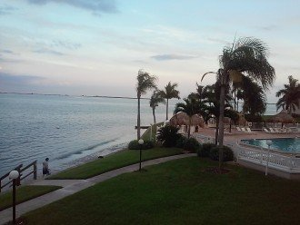 Our View from Condo Balcony.....you can fish too !!!