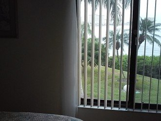 Looking out the Master bed room window at the water....just gorgeous