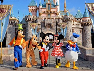Disney Florida (Orlando) is about 1 1/2 Hour drive away from us