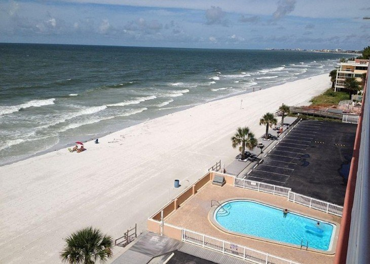 Beachfront Condo with Gulf View and Heated Pool #15