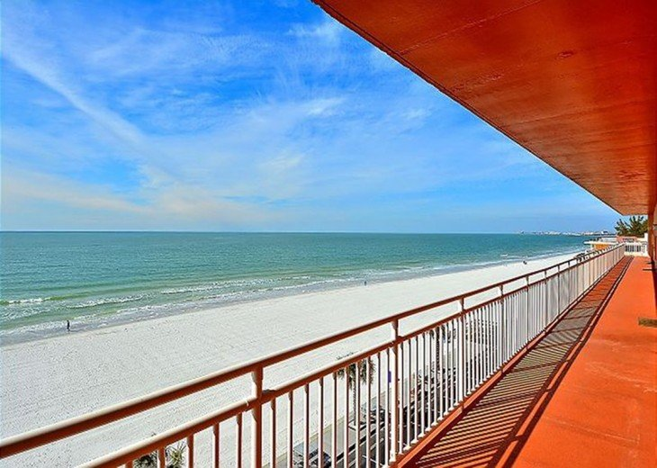 Beachfront Condo with Gulf View and Heated Pool #13