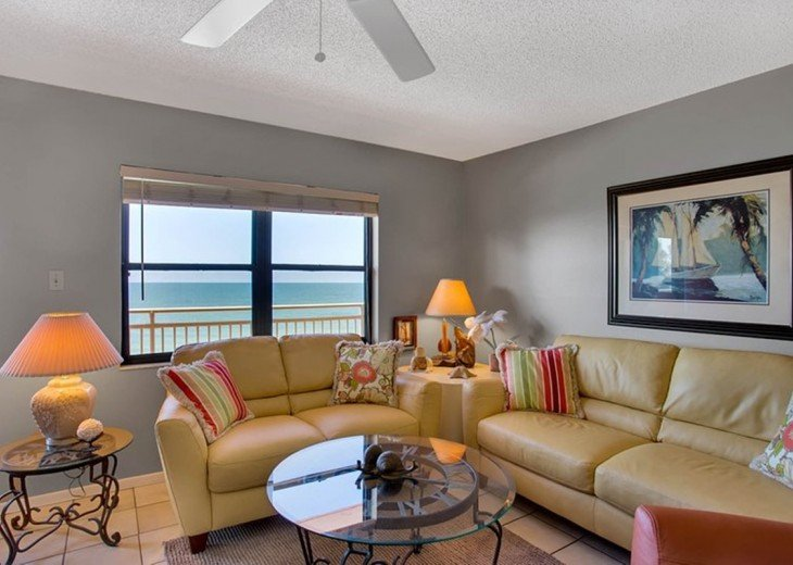 Beachfront Condo with Gulf View and Heated Pool #2