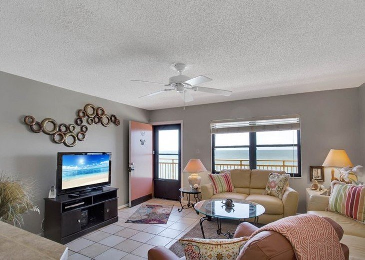 Beachfront Condo with Gulf View and Heated Pool #4