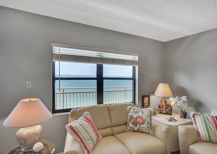 Beachfront Condo with Gulf View and Heated Pool #3