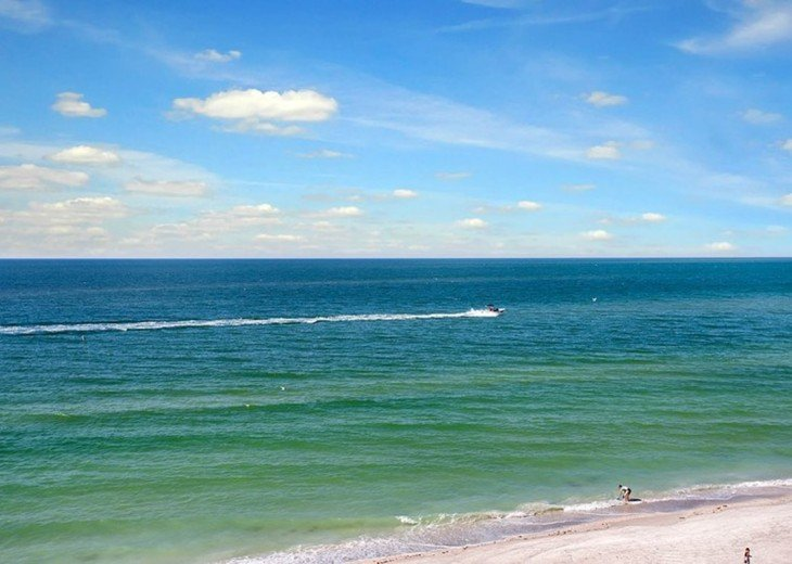 Beachfront Condo with Gulf View and Heated Pool #16