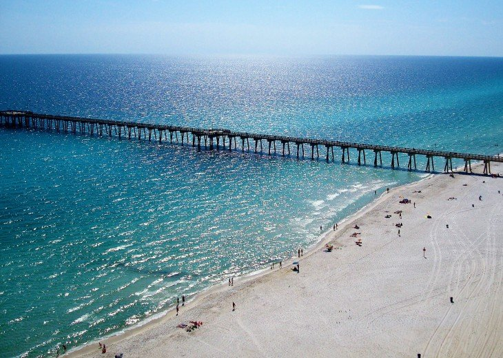 Spectacular views of the Gulf of Mexico from your balcony~see dolphins & manatee