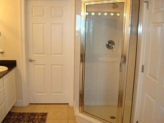 En Suite has large walk in shower