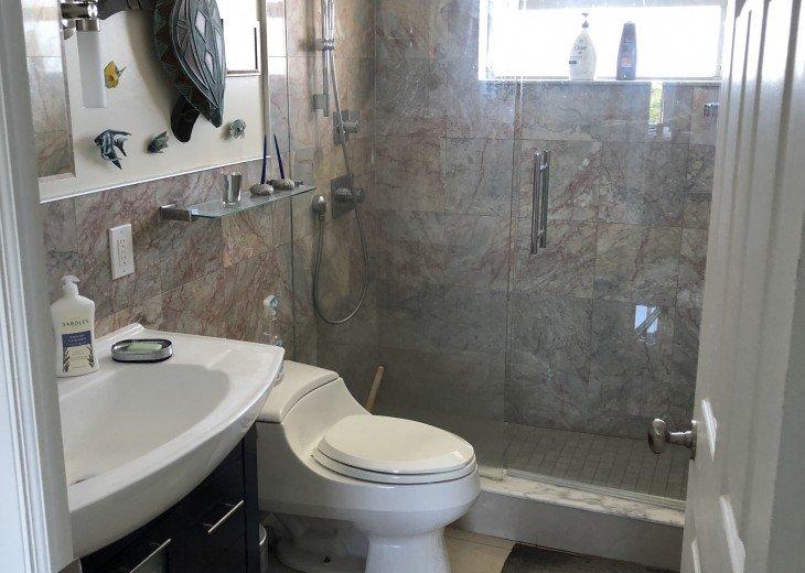 bathroom, fully marbled