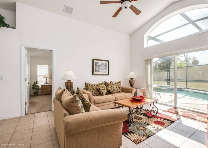 Stay in this beautiful 4 Bedroom Aviana Resort vacation home with game room - ju #8