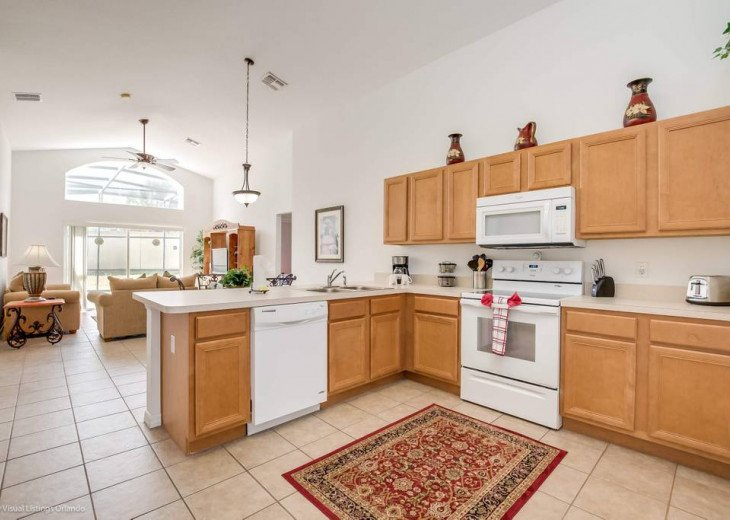 Stay in this beautiful 4 Bedroom Aviana Resort vacation home with game room - ju #5