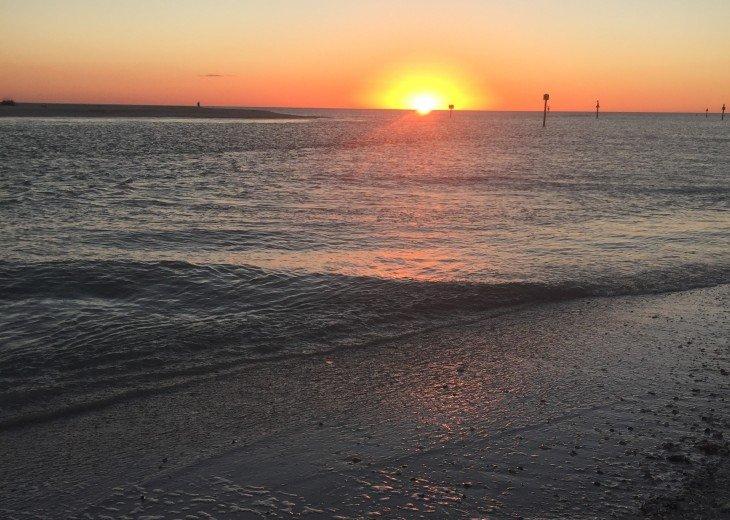 Vanderbilt Beach sunset views