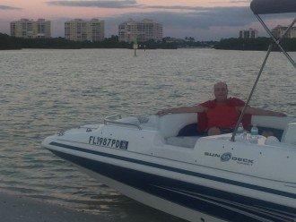 Docked at Delnoor Wiggins enjoying the sunsets
