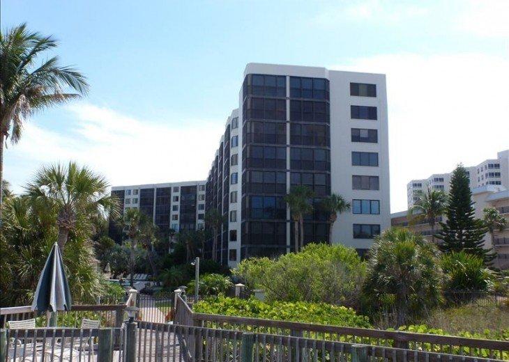 Prestigious BEACHFRONT Complex. Updated Condo 1640 sq ft. #22