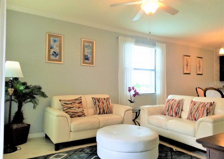 New Corner Cozy and amazing View /Upgraded 3Bds+2 Baths Condo/Golf Free #21