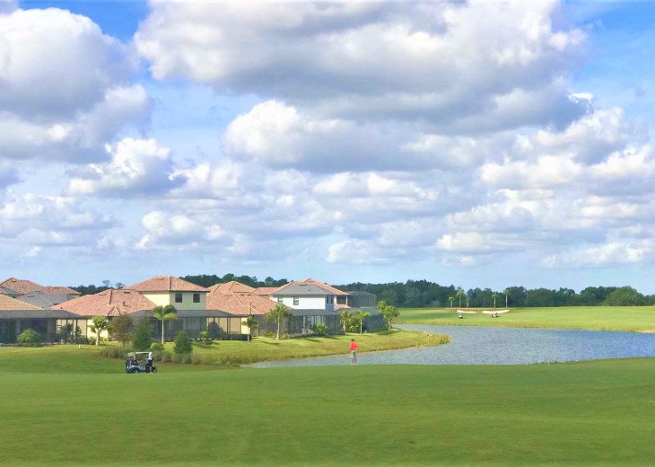New Corner Cozy and amazing View /Upgraded 3Bds+2 Baths Condo/Golf Free #39