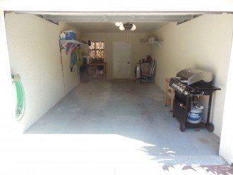 Garage w/Grill, Coolers, Beach Chairs, Floats, Golf Clubs, 2 New Bikes