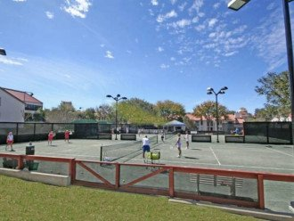 Amenity card provides you use of 12 professional tennis courts