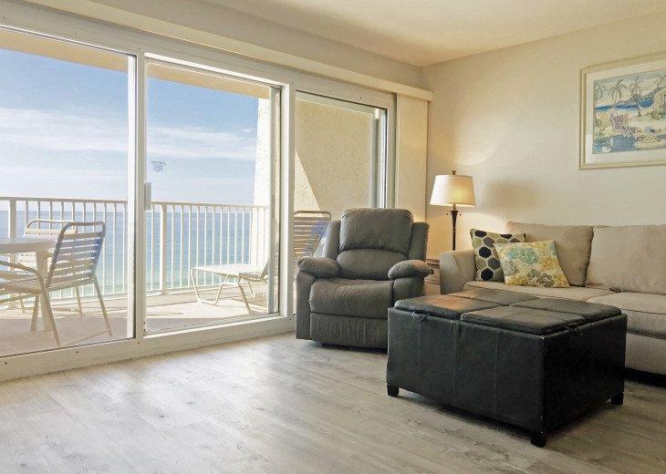 B402 Amazing view, 4th floor unit ON THE BEACH #1