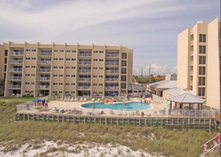 B402 Amazing view, 4th floor unit ON THE BEACH #21