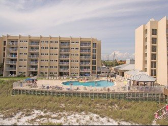 B402 Amazing view, 4th floor unit ON THE BEACH #1