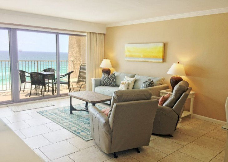 B604 Great views of the gulf to wake up to! Located directly on the beach #4