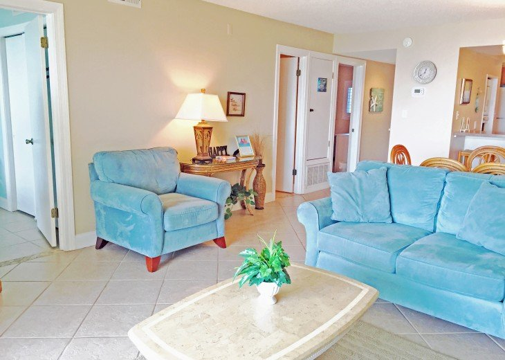 D104 1st floor unit on the beach sleeps 7! Directly on the beach! #6