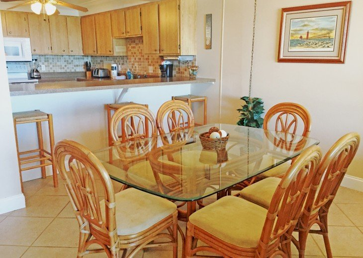 D104 1st floor unit on the beach sleeps 7! Directly on the beach! #7