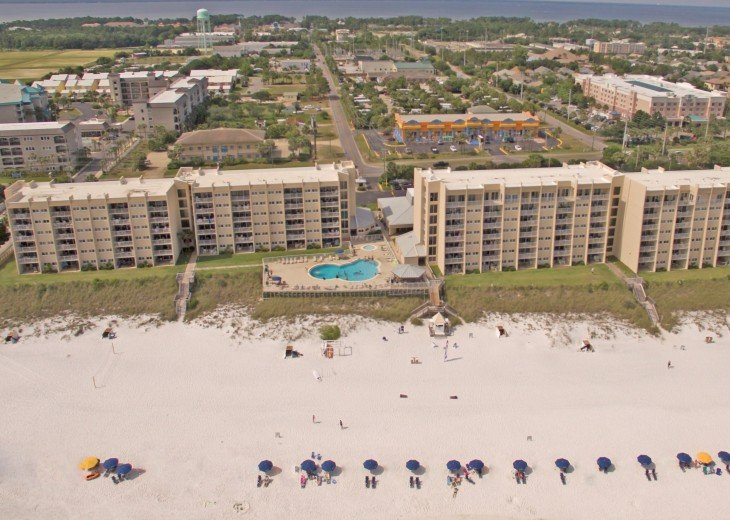 D104 1st floor unit on the beach sleeps 7! Directly on the beach! #20