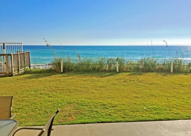 D104 1st floor unit on the beach sleeps 7! Directly on the beach! #2