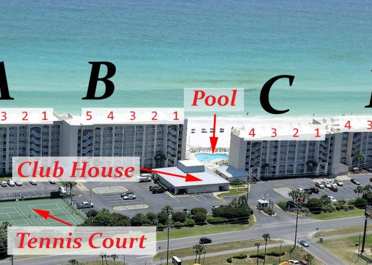 C302 Best Destin Beach House Rental #29