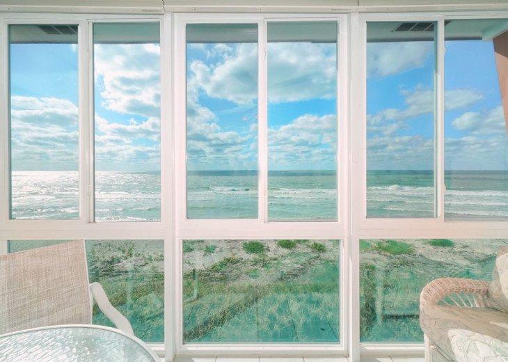 lanai with view