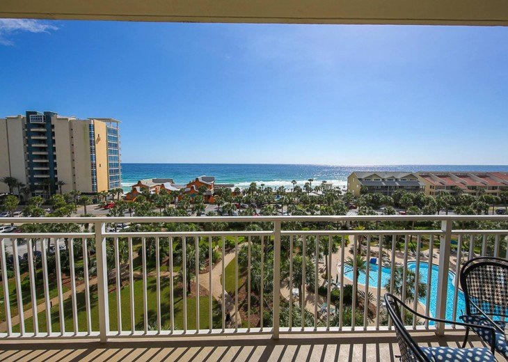 PANORAMIC OCEAN VIEWS PLUS SERENITY AT THE BEACH FROM YOUR 6TH FLOOR CONDO #14