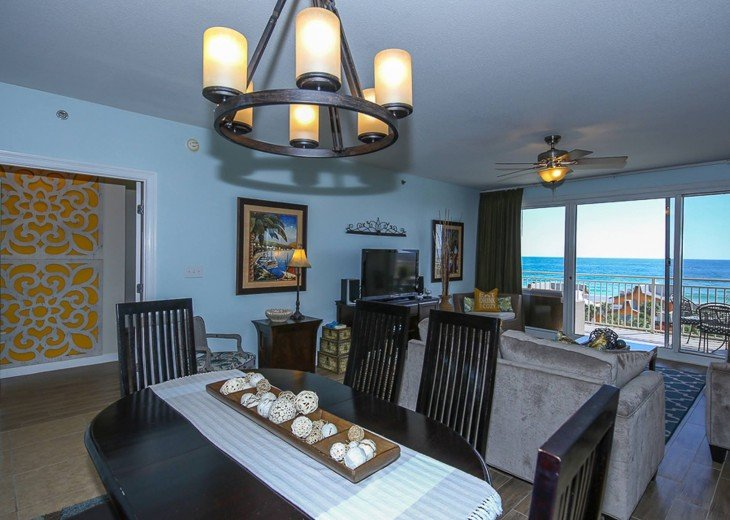 PANORAMIC OCEAN VIEWS PLUS SERENITY AT THE BEACH FROM YOUR 6TH FLOOR CONDO #7