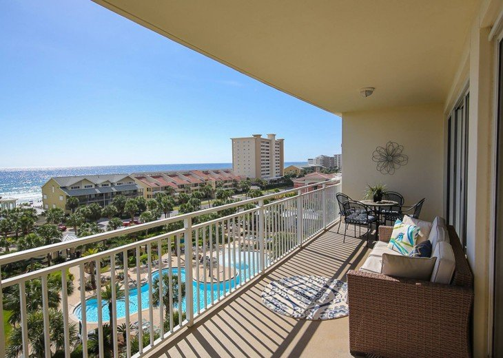 PANORAMIC OCEAN VIEWS PLUS SERENITY AT THE BEACH FROM YOUR 6TH FLOOR CONDO #17