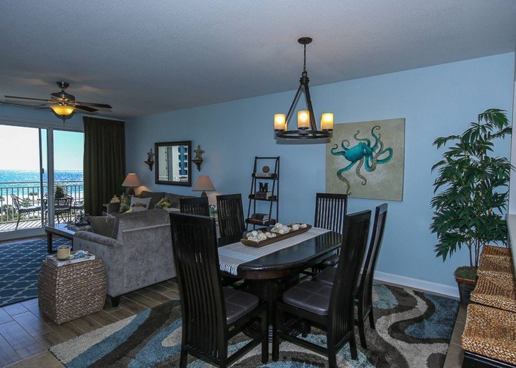 PANORAMIC OCEAN VIEWS PLUS SERENITY AT THE BEACH FROM YOUR 6TH FLOOR CONDO #6