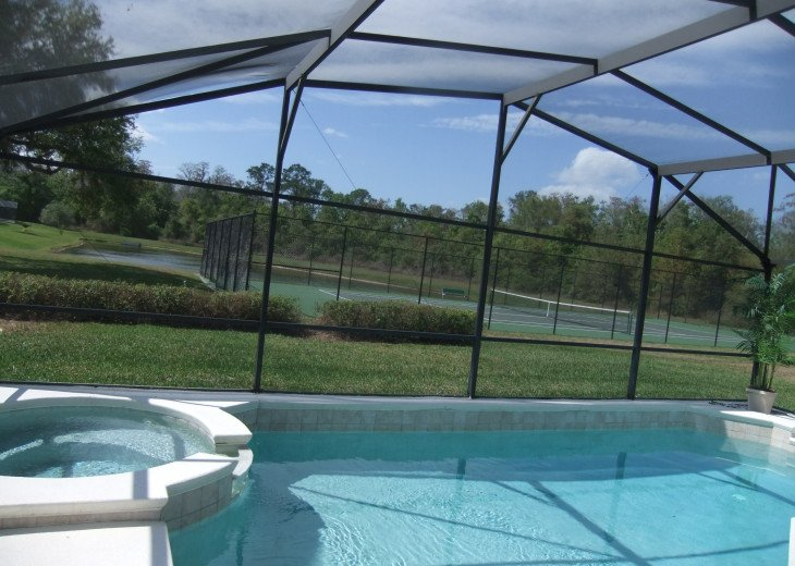 Beautiful 5 Bed villa with own pool, on gated Resport near Disney. Sleeps 10. #13