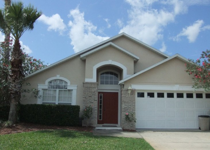 Beautiful 5 Bed villa with own pool, on gated Resport near Disney. Sleeps 10. #3