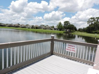 Free fishing on 3 lakes