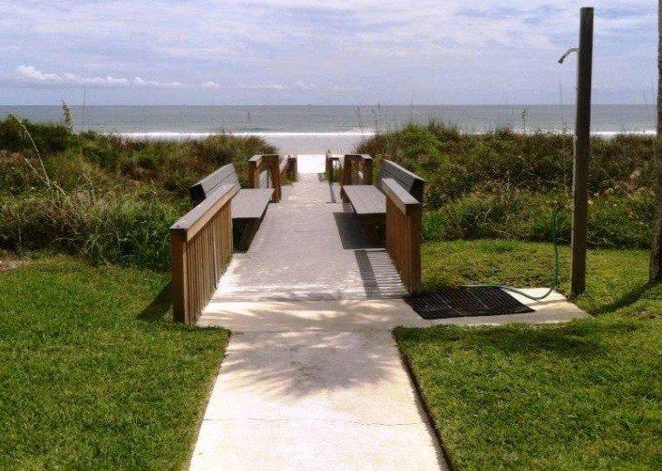 Beachfront Resort,Ground Flr,WiFi, 2br/2b,Sleep 6,Crescent Beach,St Augustine,FL #22