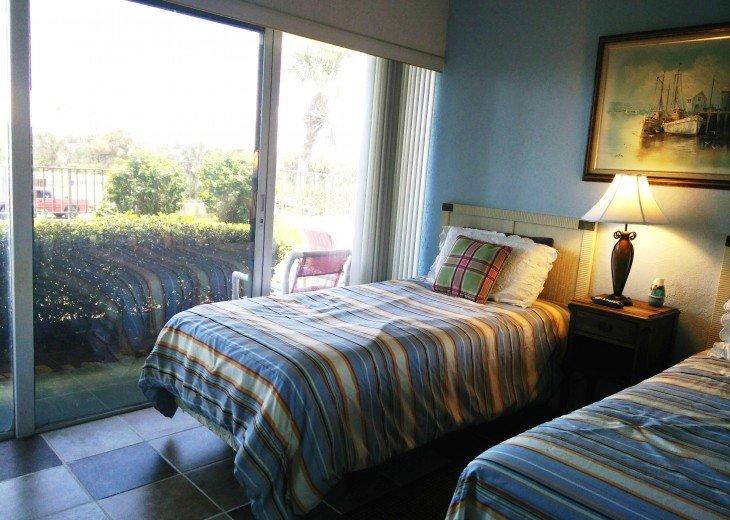 Beachfront Resort,Ground Flr,WiFi, 2br/2b,Sleep 6,Crescent Beach,St Augustine,FL #37