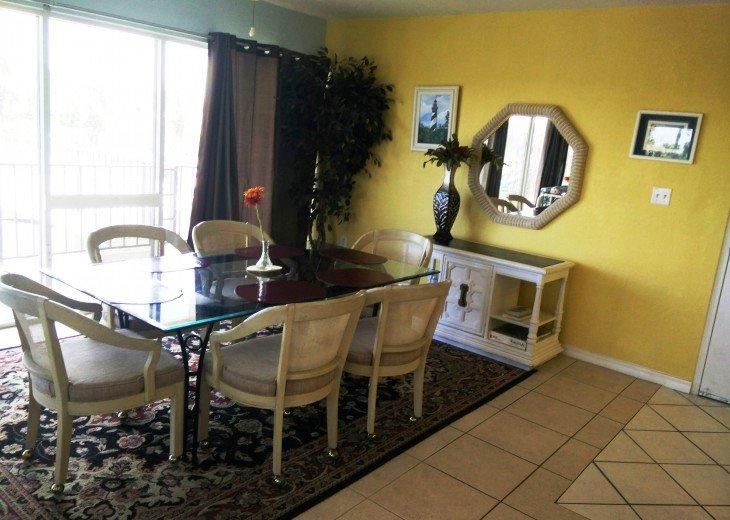 Beachfront Resort,Ground Flr,WiFi, 2br/2b,Sleep 6,Crescent Beach,St Augustine,FL #33