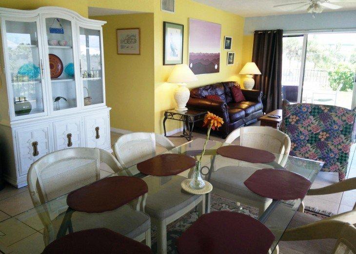 Beachfront Resort,Ground Flr,WiFi, 2br/2b,Sleep 6,Crescent Beach,St Augustine,FL #35