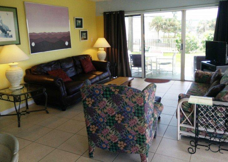 Beachfront Resort,Ground Flr,WiFi, 2br/2b,Sleep 6,Crescent Beach,St Augustine,FL #31