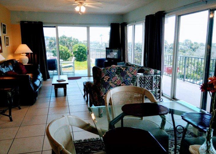 Beachfront Resort,Ground Flr,WiFi, 2br/2b,Sleep 6,Crescent Beach,St Augustine,FL #5
