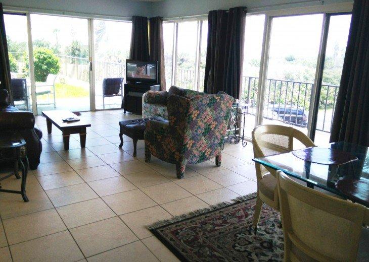 Beachfront Resort,Ground Flr,WiFi, 2br/2b,Sleep 6,Crescent Beach,St Augustine,FL #36