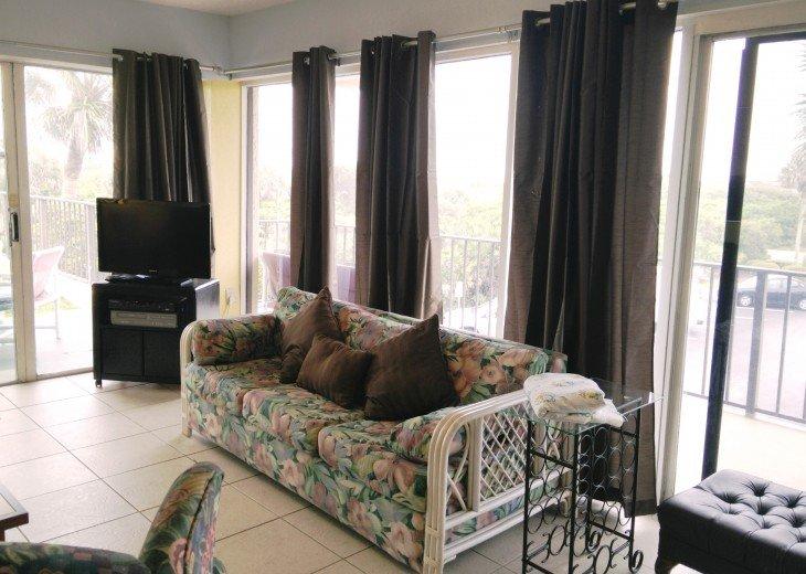 Beachfront Resort,Ground Flr,WiFi, 2br/2b,Sleep 6,Crescent Beach,St Augustine,FL #27