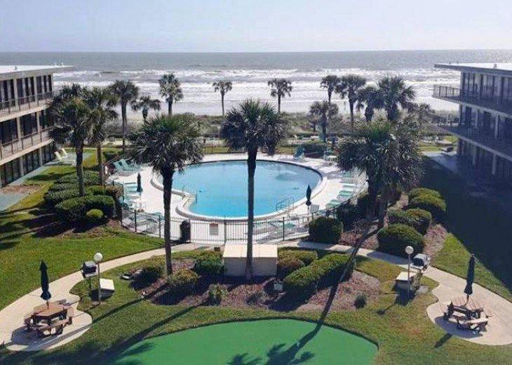 Beachfront Resort,Ground Flr,WiFi, 2br/2b,Sleep 6,Crescent Beach,St Augustine,FL #24